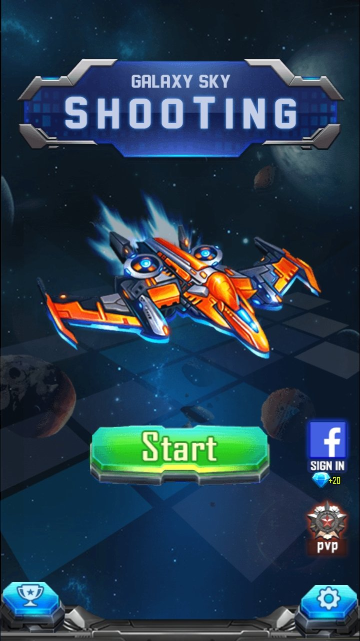 Galaxy-Sky Shooting recommendation