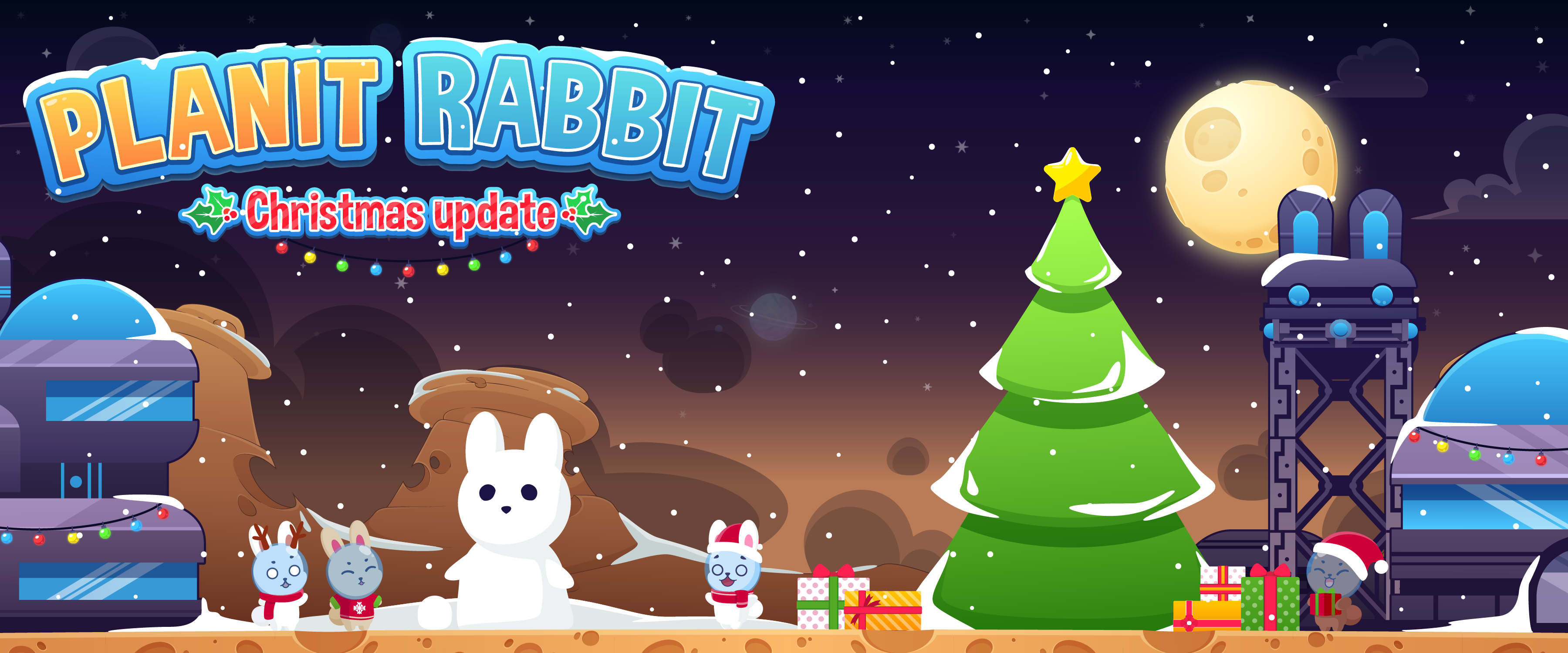Planet Rabbit Christmas